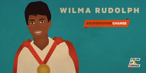Superpowerchange became the first american woman to win three gold medals in a single olympiad she was also a civil rights activist in may 1963 rudolph participated in voltagebd Choice Image